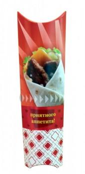 Коробка под ролл с линией отрыва, 500 шт. - Поставка профессионального оборудования и продуктов питания для ресторанов, кафе, баров | HoReCaMart.ru | Екатеринбург