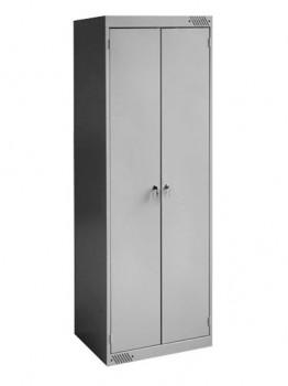 Шкаф для одежды двухсекционный 800х500 мм. - Поставка профессионального оборудования и продуктов питания для ресторанов, кафе, баров | HoReCaMart.ru | Екатеринбург