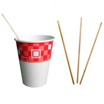 Деревянный размешиватель для кофе и чая, 1000 шт. - Поставка профессионального оборудования и продуктов питания для ресторанов, кафе, баров | HoReCaMart.ru | Екатеринбург